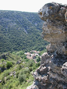 The hills around St Guilhem le Desert